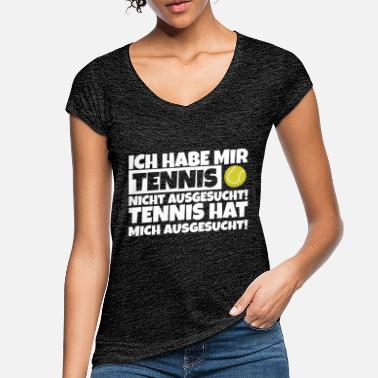 tennis saying passion funny fun humor - Women's Vintage T-Shirt