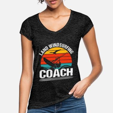 Windsurfing Country windsurfing coach - Women's Vintage T-Shirt