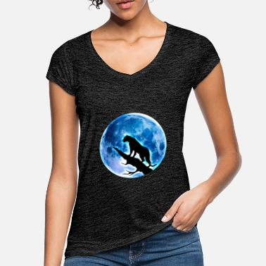Full Moon full moon - Women's Vintage T-Shirt