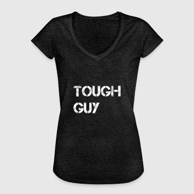 Tough guy - white - Women's Vintage T-Shirt