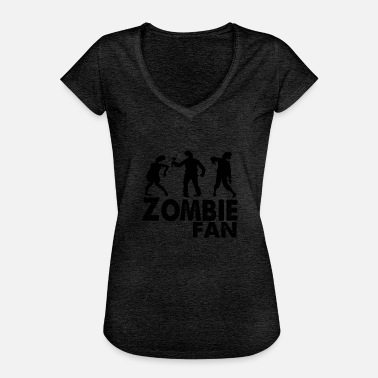 Fan Zone zombie fan - Women's Vintage T-Shirt