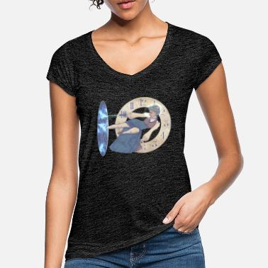 Jumping through the portal - Women's Vintage T-Shirt