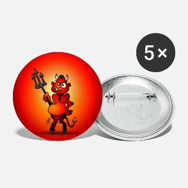Devil Little red devil - Large Buttons