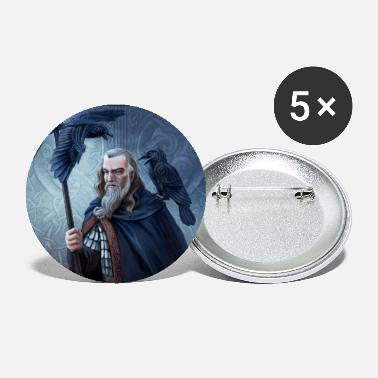 Mythical Collection Odin - Large Buttons