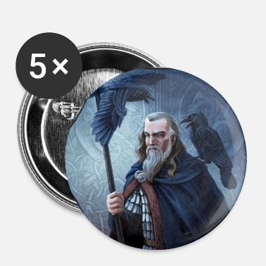 Mythical Collection Odin - Buttons large 56 mm