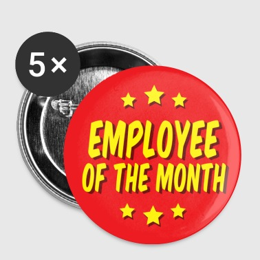 Worst Employee of the Month - Buttons large 56 mm