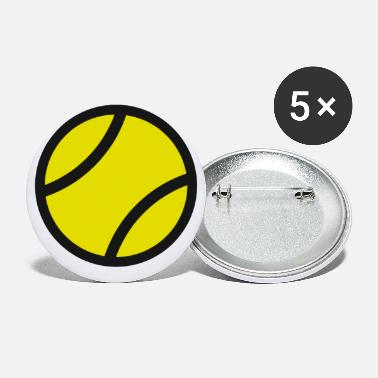 Tennis Tennis tennis lovers tennis tennis racket - Large Buttons