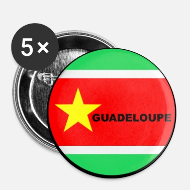 Guadeloupe guadeloupe - Badge grand 56 mm