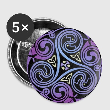 Celtic Spiral #1 - Buttons large 56 mm