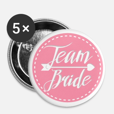 Celibenubile team_bride_lovely_pink - Spilla grande 56 mm