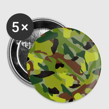 camouflage - Buttons groß 56 mm