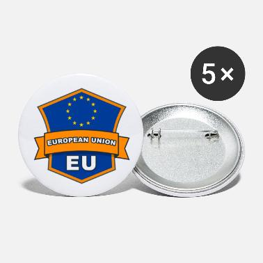 Eu Badge: EU - Buttons groot