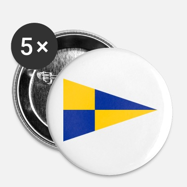 EU Fishery Inpection Teams Pennant - Buttons large 56 mm