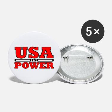 Stars And Stripes Forenede Stater - Store buttons