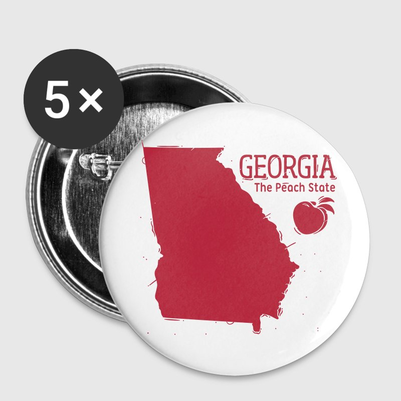 Georgia - Buttons groß 56 mm