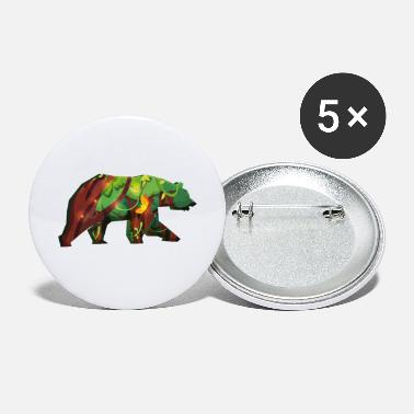 Brown Bear Brown bear. bear - Large Buttons