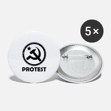 Demo Demo og protest - Store buttons