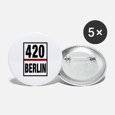 Smoke Weed 420 Berlin Design - Large Buttons