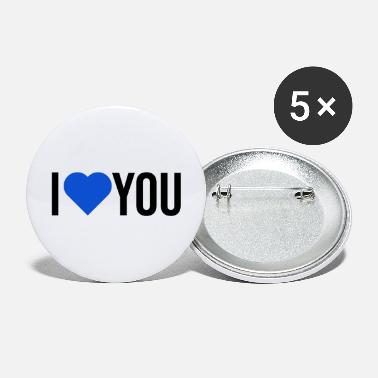 Couple je t'aime - Grands badges