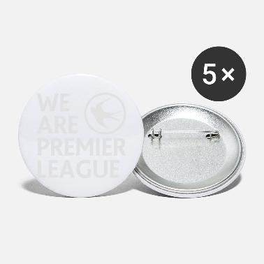 Premier Cardiff City FC - We Are Premier League (White) - Large Buttons