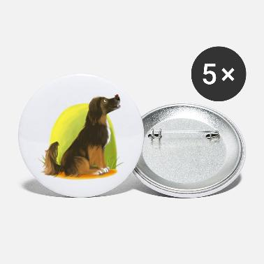 favorite dog - Large Buttons