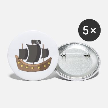 Pirate Ship pirate ship - Large Buttons