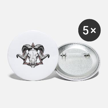 Horns Buck with horns - Large Buttons