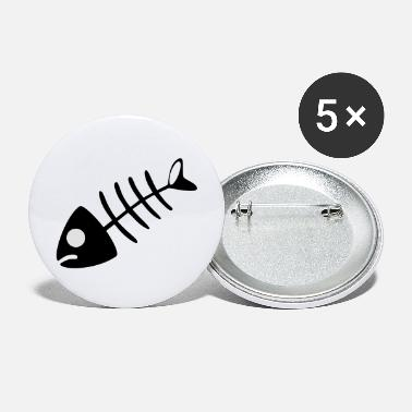 Bone fish bone - Large Buttons