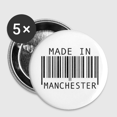 Made in Manchester - Buttons large 56 mm