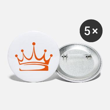 Crown to print on for hoodie, t-shirt, bag - Large Buttons