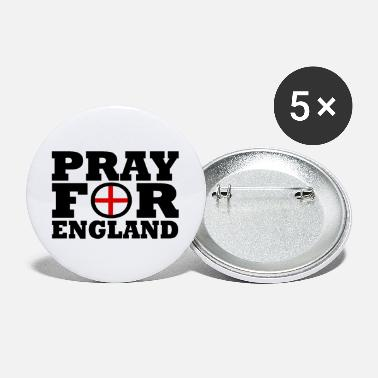 England England / Pray For England - Large Buttons