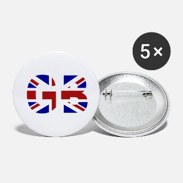 Gb GB Union Jack - Large Buttons