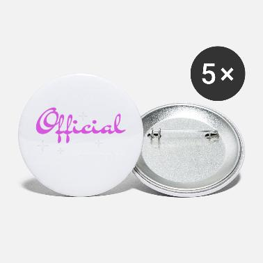 Officielle Officiel teenager - Store buttons