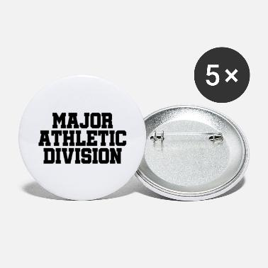 Athletics Major Athletic Division - Sports - Athlete Athlete - Large Buttons