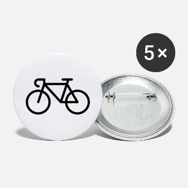 Pictograph Racing Bicycle / Bike (Icon / Pictogram) - Large Buttons