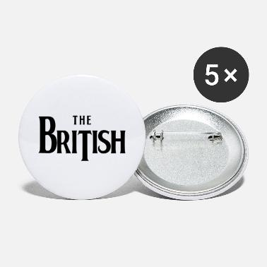 British THE BRITISH - Large Buttons