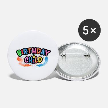 Birthday Party Birthday Kid Birthday Party Birthday Party - Large Buttons