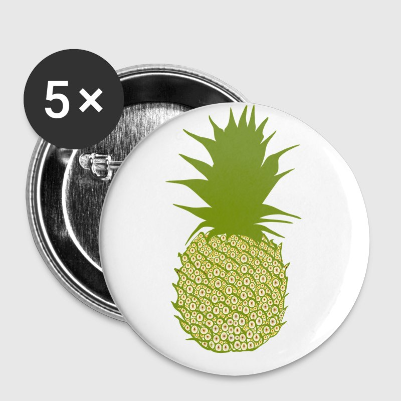 Ananas  - Buttons large 56 mm