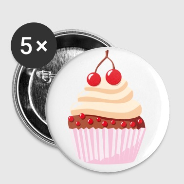 Törtchen - cupcake - muffin - Buttons large 56 mm