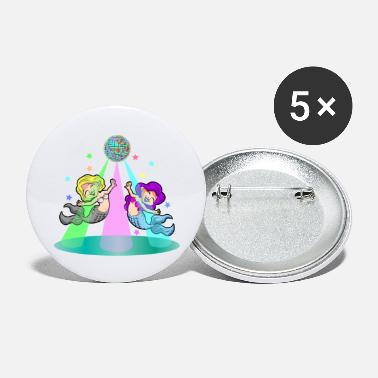 DANCING MERMAIDS - Large Buttons