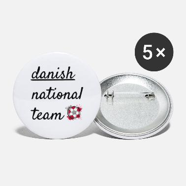 National Team Danish national team - Large Buttons