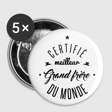 meilleur grand frère - Badge grand 56 mm