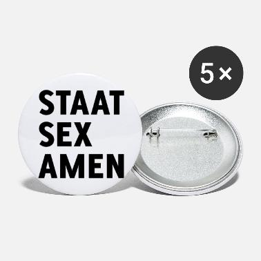 State State Examination (State Sex Amen) - Large Buttons