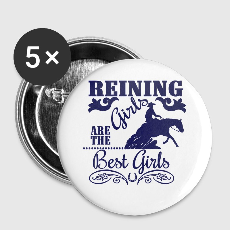 Reining Girls are the best Girls - Spilla grande 56 mm