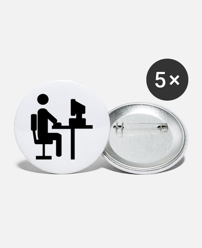 Office Buttons - Office - Large Buttons white