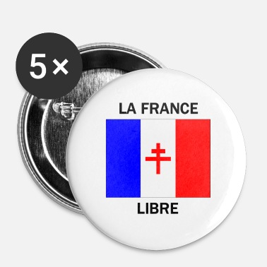 Lorraine La France libre - Badge grand 56 mm