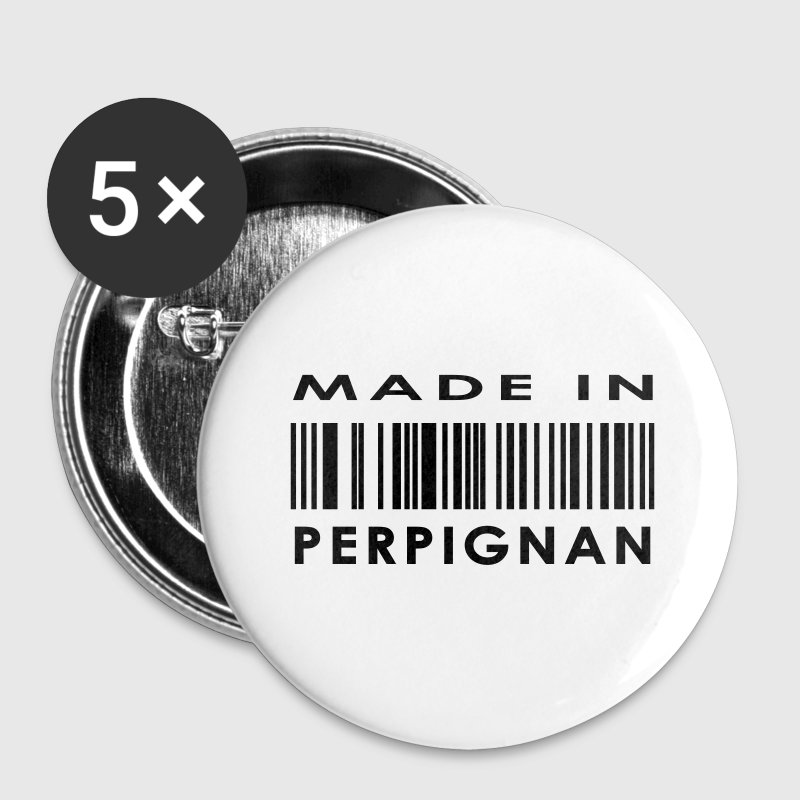 Perpignan  - Badge grand 56 mm