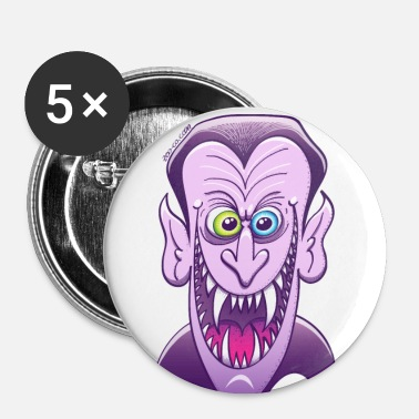 Evil Dracula - Buttons large 56 mm