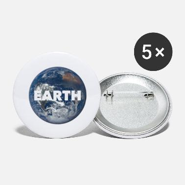 Planet Earth Planet Earth - Large Buttons