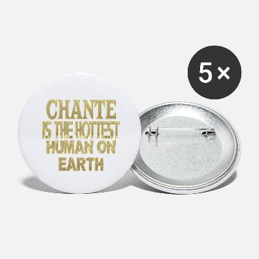 Chant Chante - Large Buttons